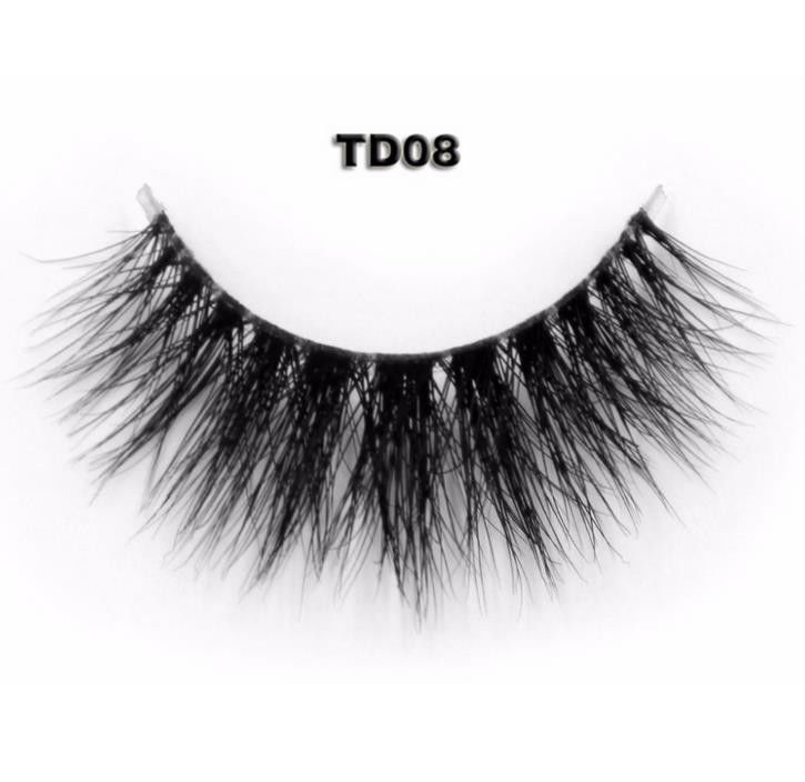 Invisible Band False Strip Eyelashes Mink False Lashes Natural Effect Super Light